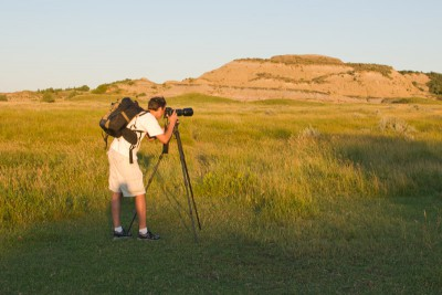 Shooting in the North Dakota Badlands, 2011