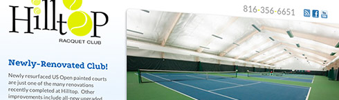 Hilltop Racquet Club Website