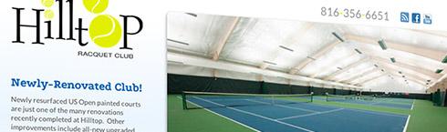 Hilltop Racquet Club Website
