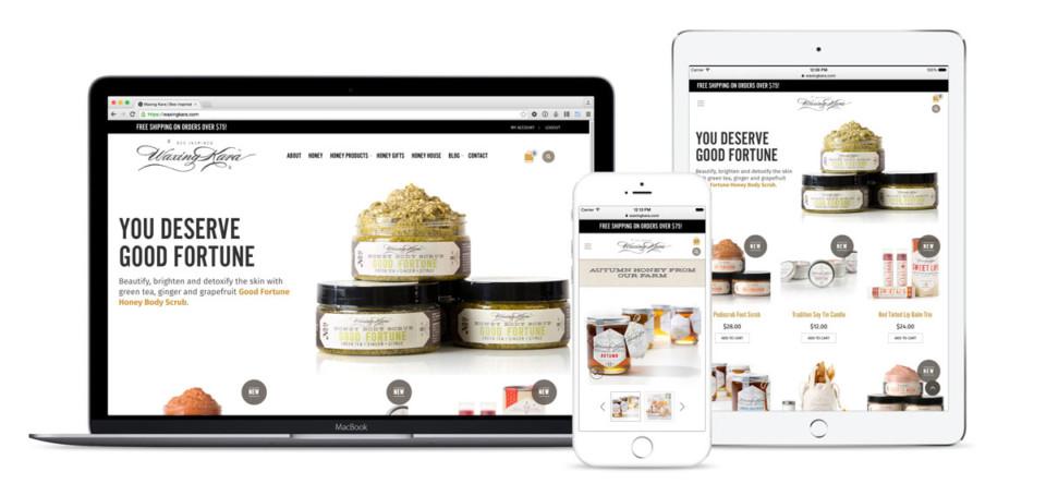Waxing Kara Website